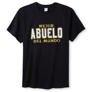 *5/$20NWT Men's 4XL Mejor Abuelo Del Mundo T-Shirt